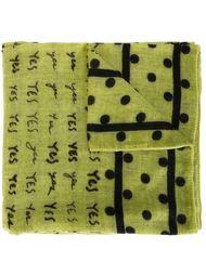 шарф с принтом Massimo Alba