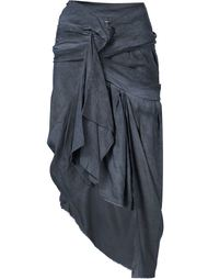 draped asymmetric skirt Vivienne Westwood Gold Label