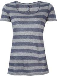 полосатая футболка  Woolrich