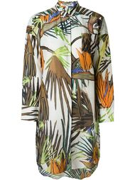 'Paradise Tree Bedouin' oversized shirt dress Valentine Gauthier