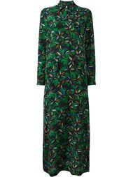 платье с цветочным принтом  Agnona