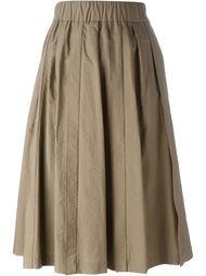 юбка миди с завышенной талией Brunello Cucinelli