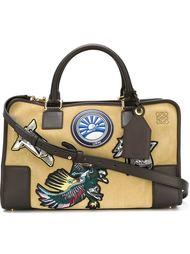 сумка-тоут с нашивками Loewe