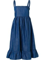 denim pinafore dress Co