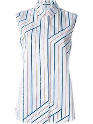 sleeveless striped shirt Jil Sander