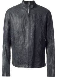 seamless zipped jacket  Isaac Sellam Experience