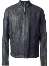seamless zipped jacket  Isaac Sellam Experience