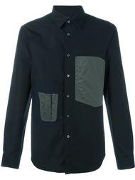 рубашка с накладными карманами Jil Sander