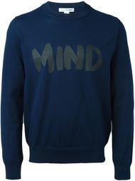 свитер с надписью спереди Comme Des Garçons Shirt