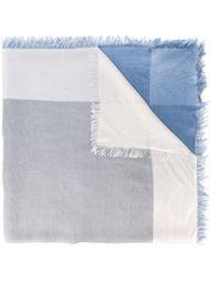 colour block scarf Faliero Sarti