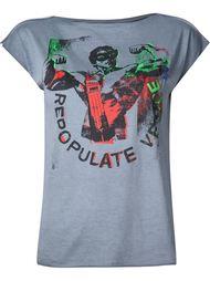 'Repopulate Venice' print T-shirt Vivienne Westwood Gold Label