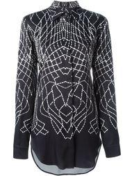 webbed print shirt Marcelo Burlon County Of Milan