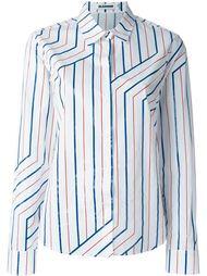 long sleeve striped shirt Jil Sander