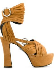 ankle wrap platform sandals Just Cavalli