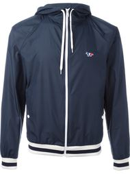 куртка на молнии с капюшоном Maison Kitsuné