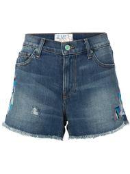 embroidered denim shorts Sandrine Rose