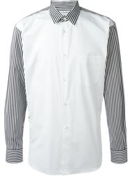 striped panel shirt Comme Des Garçons Shirt
