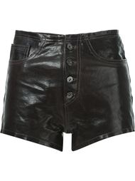leather shorts Marques Almeida