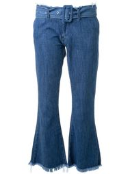 cropped flared jeans Marques Almeida