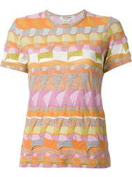 multi pattern T-shirt Junya Watanabe Comme Des Garçons