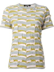 panel striped T-shirt Junya Watanabe Comme Des Garçons