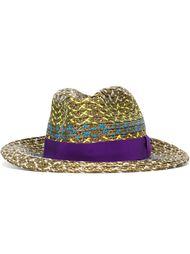шляпа с плетеными деталями Etro
