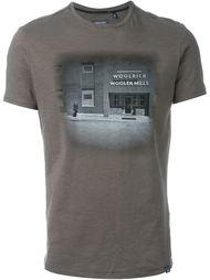 photo print T-shirt Woolrich