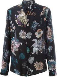 floral print shirt Versus
