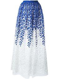 embroidered skirt Christian Pellizzari