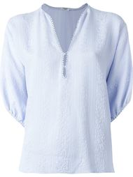 v-neck blouse Vilshenko