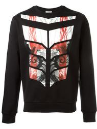 digital print sweatshirt Les Hommes Urban