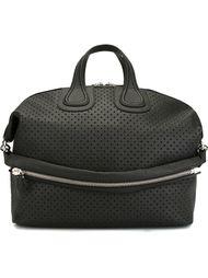 дорожная сумка с перфорированным дизайном  Givenchy