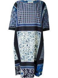 платье миди с комбинированным принтом Wunderkind