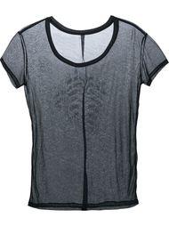 футболка с принтом на спине Unravel