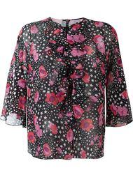 блузка с принтом Giamba