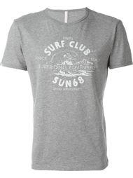 футболка с графическим принтом спереди Sun 68