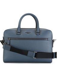 contrast strap briefcase Michael Kors