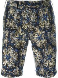 шорты с цветочным принтом Gabriele Pasini