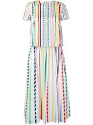 Pinstripe Dress Mira Mikati