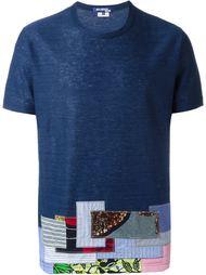 футболка с лоскутным узором Junya Watanabe Comme Des Garçons Man