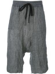 drawstring drop-crotch shorts Lost & Found Ria Dunn