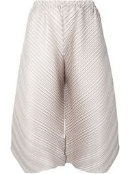 pleated culottes Pleats Please By Issey Miyake
