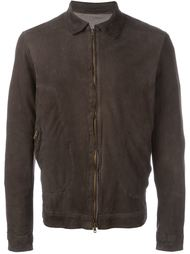 zip up bomber jacket Salvatore Santoro