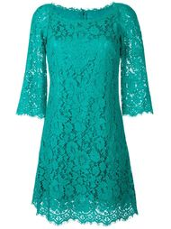 floral lace fitted dress   Dolce & Gabbana
