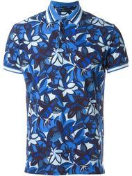 футболка-поло с цветочным принтом   Etro