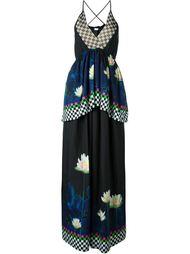 расклешенное платье с цветочным принтом Wunderkind
