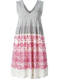платье с завышенной талией и вышивкой Issey Miyake Cauliflower