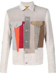 лоскутная куртка Junya Watanabe Comme Des Garçons Man