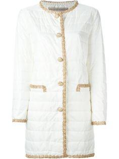 стеганое пальто Ermanno Scervino