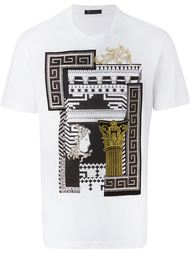 футболка 'Greek Graphic' Versace